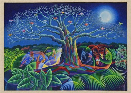 árbol De La Vida By Luis Covarrubias On Artnet