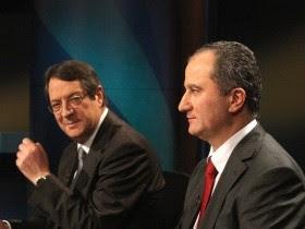 Κύπρος: Αναστασιάδης-Μαλάς στο δεύτερο γύρο