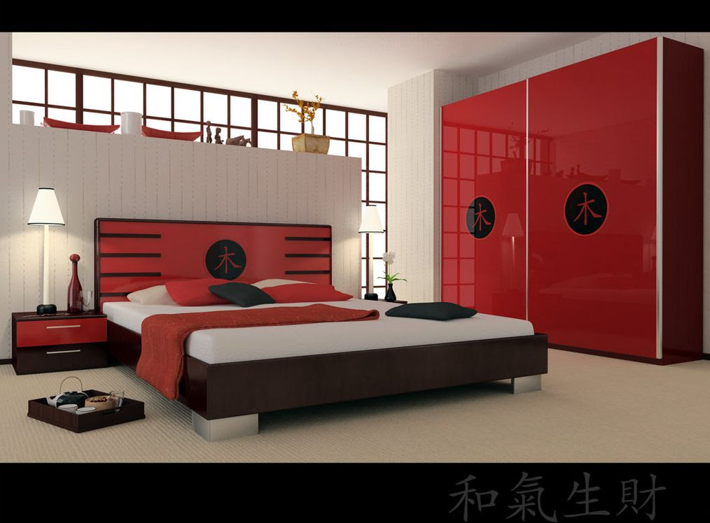 House Decorating Ideas | Bedroom with Japanese Style