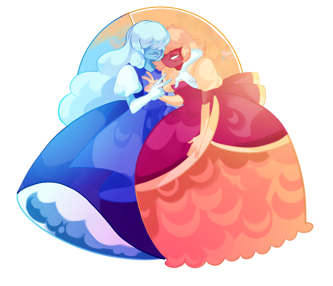 One Sapphire is good But two are better