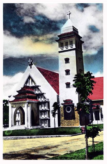 sud vietnam - église du cap st jacques