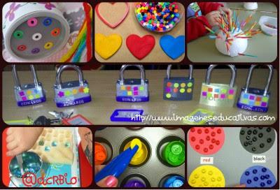 juegos y actividades para estimular y trabajar la motricidad  Collage