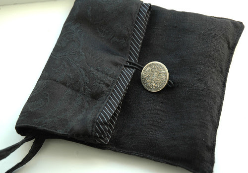 black pouch :: sort veske #1