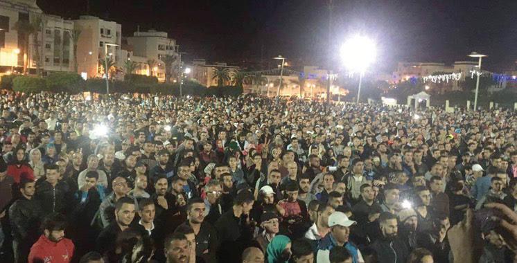 """Résultat de recherche d'images pour """"manifestation al hoceima aujourd'hui"""""""