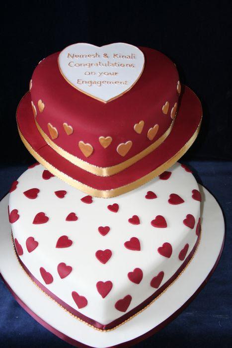 Galleryanniversary2 Tier Heart Shaped Cake