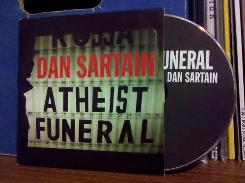Dan Sartain - Atheist Funeral Promo CD Single