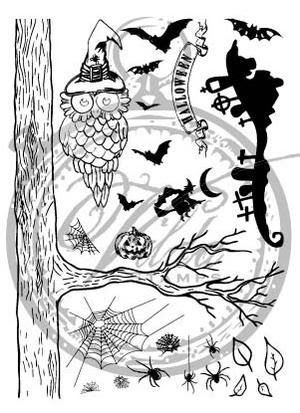 vilda-owl-stamp-set