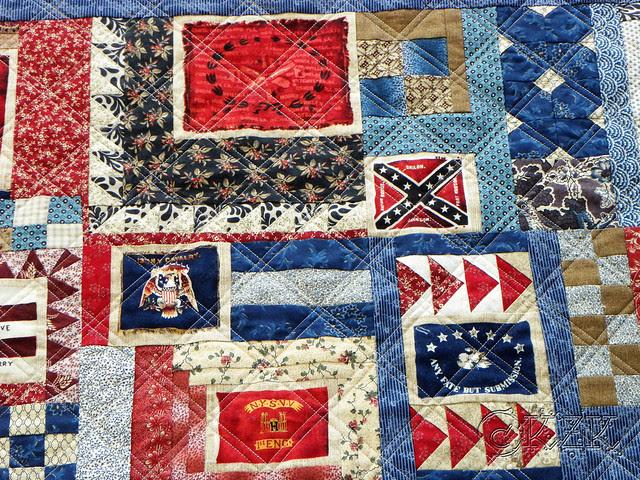 DSCN2110 Gettysburg Battle Flag quilt