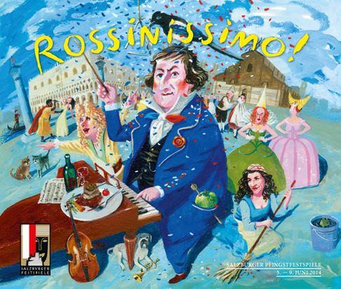 """En esta edición 2014 se presenta """"Rossinissimo"""" © Jens Rassmus"""
