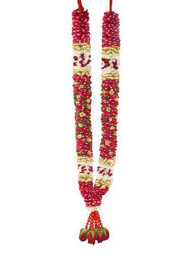 Indian Wedding Garland,Fresh Cut Flowers, Indoor Plants