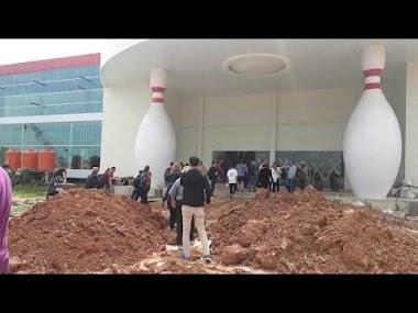 Menengok Progres Pembangunan Venue Bowling di JSC Palembang