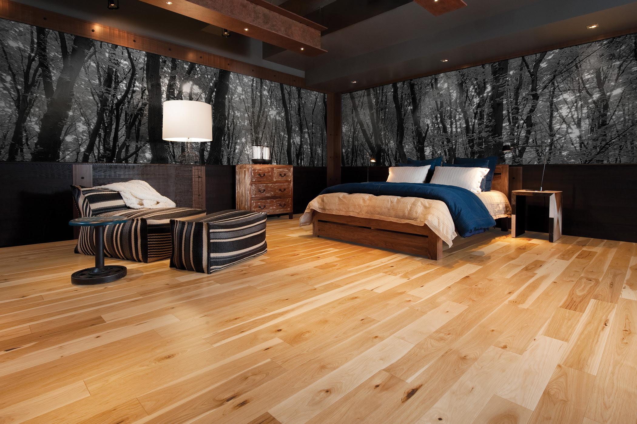 9 RUSTIC WOODEN FLOOR BEDROOM DESIGN INSPIRATIONS ...