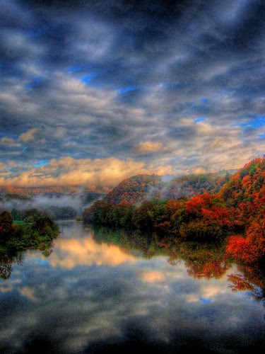 Mystical Morning Reflections