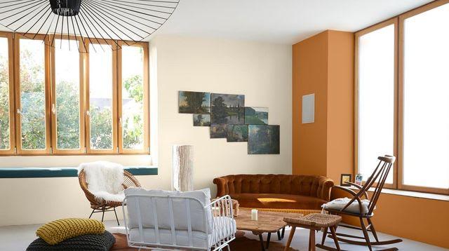 12 façons d'inviter la couleur dans le salon
