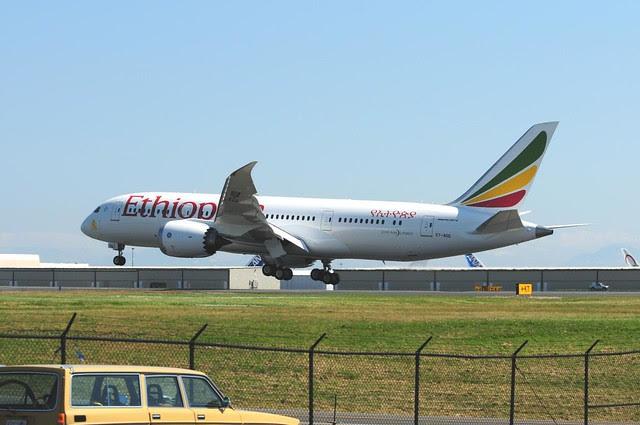 Ethiopian Airlines 787 ET-AOQ Dreamliner Boeing