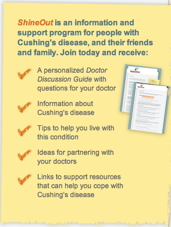 ShineOut Cushing's Disease Support Program Enrollment Form at 9.34.13 AM