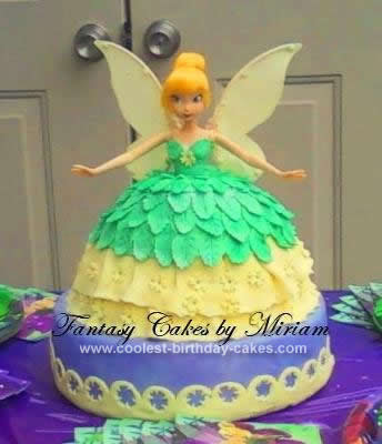 Tinkerbell Cake Wiltontinkerbell Cupcake Liners
