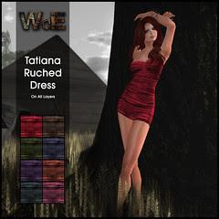 Tatiana Ruched Dress