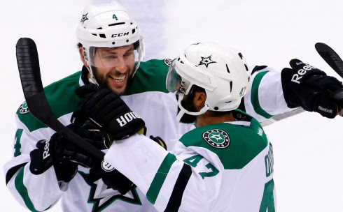 Jason Demers et Johnny Oduya