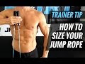 How To Adjust Jump Rope Length