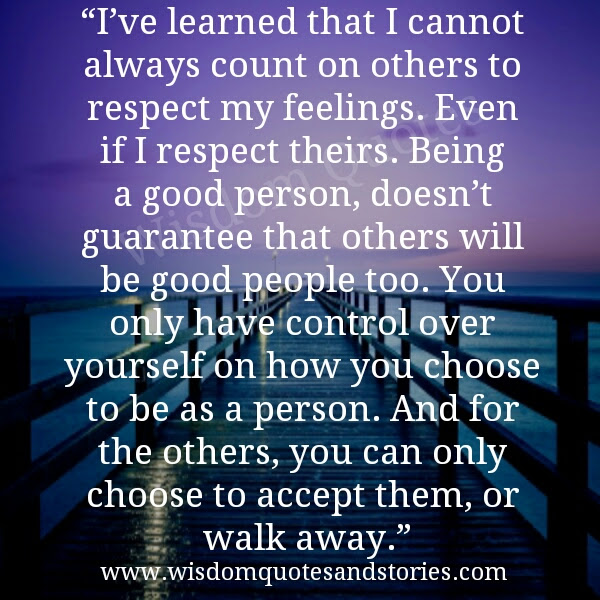 Being A Good Person Wisdom Quotes Stories