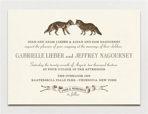 Wedding Invitation Wording: Formal, Modern & Fun   A
