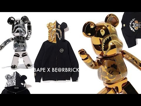 3c10edcd8 BAPE x BE@RBRICK 2018 Collection Launches Feb 10th