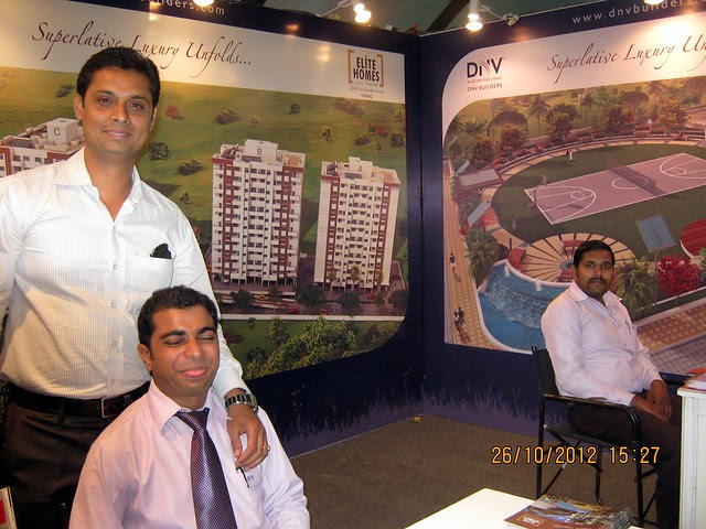 DNV Builders (www.dnvbuilders.com) - Exhibition of Properties in Hinjewadi, Wakad, Baner, Balewadi & Bavdhan! - PROFEST WEST 2012 by CREDAI Pune Metro on 26 - 27 - 28 October 2012 at VITS Hotel, Balewadi, Pune
