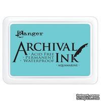 Архивные чернила Ranger - Archival Ink Pads - Aquamarine - ScrapUA.com