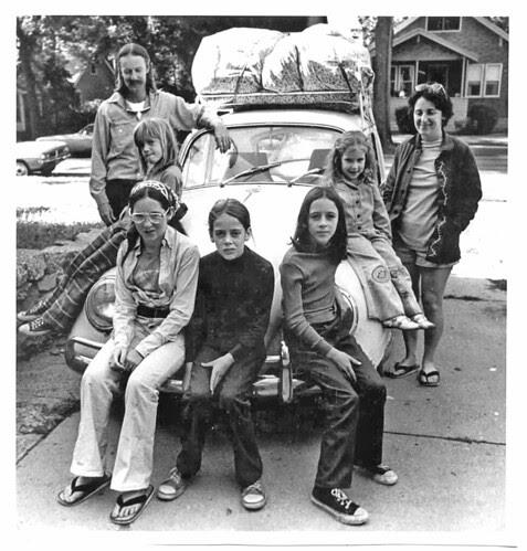 7 in a bug circa '75