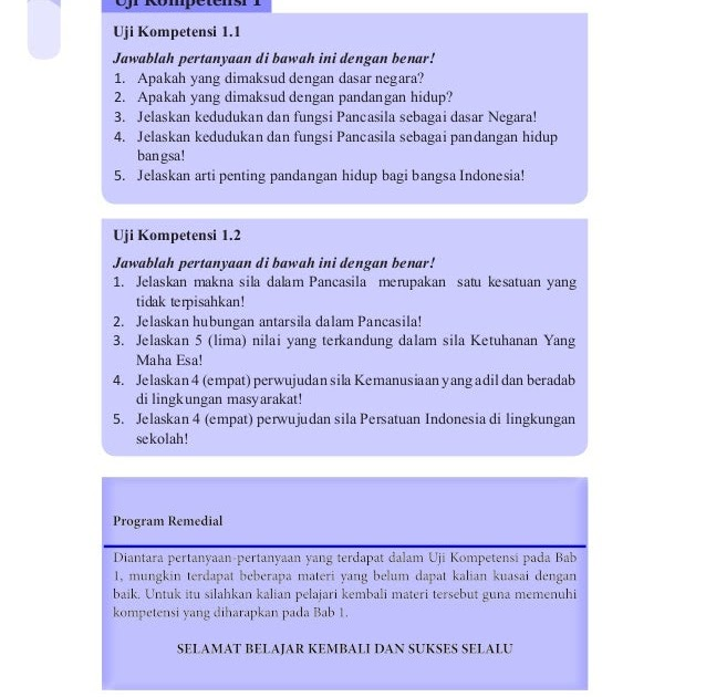 Uji Kompetensi 3 Pkn Kelas 8 Revisi Sekolah