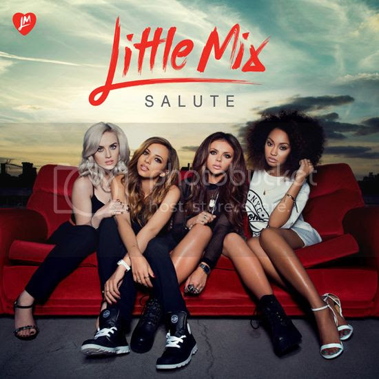 Behind the scenes: Little Mix on the set of their 'Salute' album shoot...