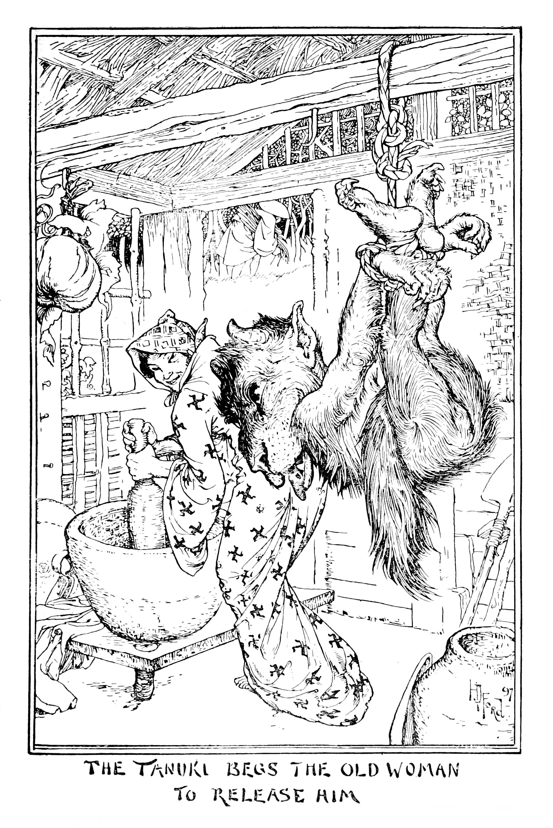 Henry Justice Ford - The pink fairy book, edited by Andrew Lang, 1897 (illustration 4)