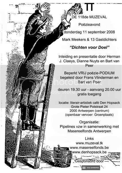 De Muzeval September 2008 - Dichten voor Doel Pictures, Images and Photos