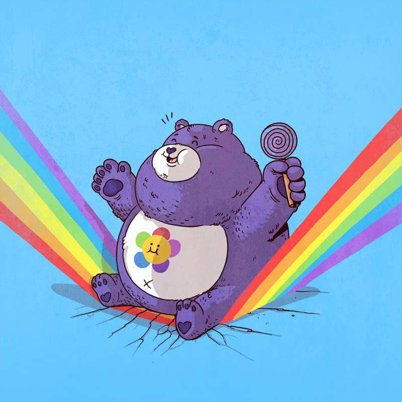 Care Bears ケアベア 何これかわいい人気画家が描いた有名
