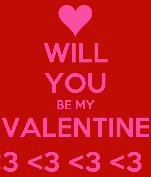 Will You Be My Valentine 2015 Online Quotes