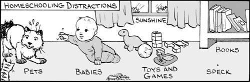 Home Spun comic strip #216