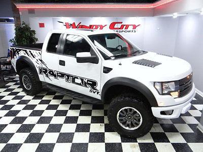 10 Ford F 150 Raptor Svt 4x4 62 V8 Graphics Pkg Navigation