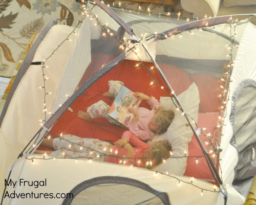 Fun Indoor Camping Party Ideas My Frugal Adventures