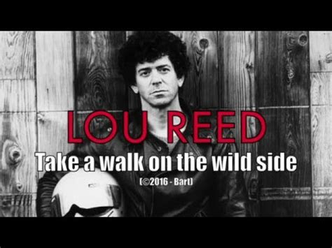lou reed   walk   wild side karaoke youtube