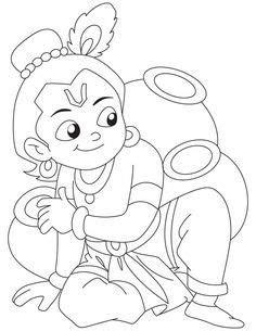 Radha Krishna Drawing Easy