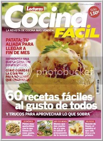 Casas cocinas mueble revista lecturas cocina - Revista cocina facil lecturas ...