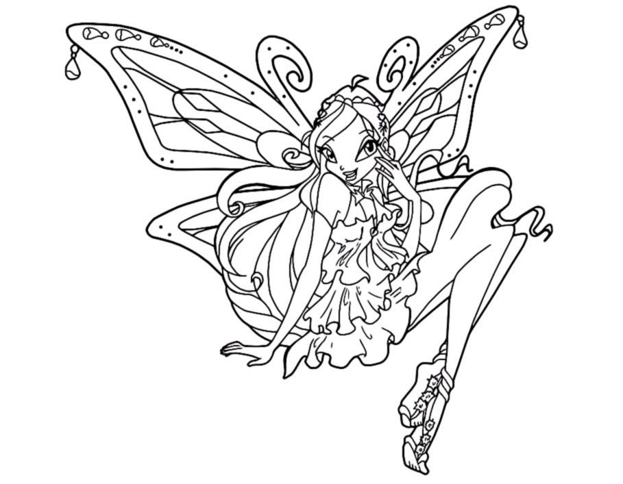 Bloom Winx Coloring Pages Eskayalitim