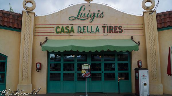 Disneyland Resort, Disney California Adventure, Cars Land, Luigi, Flying, Tires, Refurbishment, Refurbish, Refurb