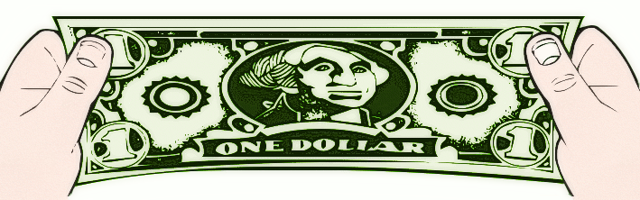 stretch a dollar color