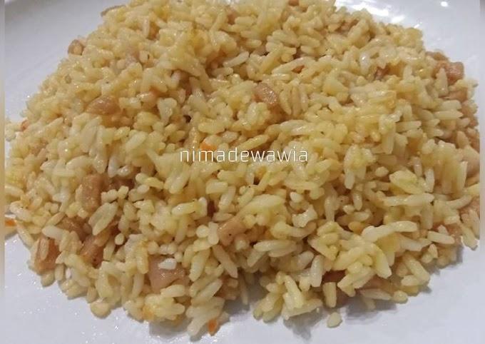 Cara Mudah Memasak Nasi Goreng Rumahan Lezat