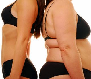 weight, healthy vs unhealthy