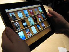 iPad's iBooks Library View by GlennFleishman, on Flickr