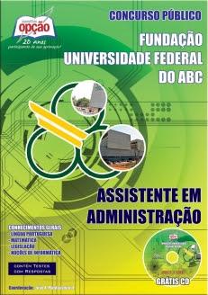 Fundação Universidade Federal do ABC-ASSISTENTE EM ADMINISTRAÇÃO