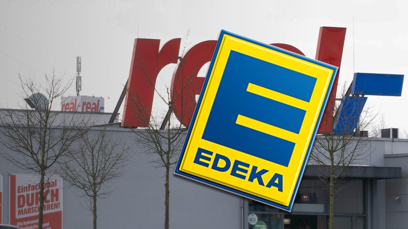 Edeka sichert sich weitere Real-Filialen: An diesen 7 Standorten übernimmt die Supermarktkette